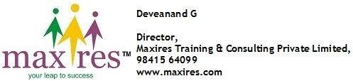 Zigma Marketing - MAXIRES TRAINING AND CONSULTING PVT LTD