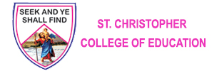 Zigma Marketing - ST. CHRISTOPHER COLLEGE OF EDUCATION